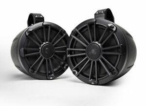 """2) MB Quart NPT1-120 8"""" Nautic Premium Waterproof Marine Wake Tower Speakers"""