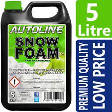 Autoline Snow Foam shampoo high gloss wax Apple fragrance 5L GREAT OFFER !