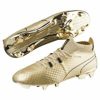[104707-01] Mens Puma One Gold Firm Ground Cleats