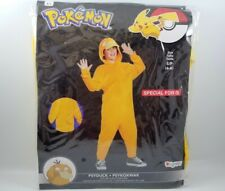 Pokemon Cosplay Costume Kids Psyduck Halloween Small 4-6