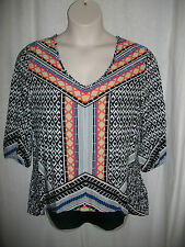 """*BRAND NEW"""" WOMEN'S TOP..SIZE 14..lined..great colours...WITH TAG. RRP$49.99"""
