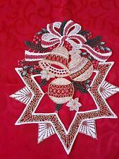 Plauner Spitze Chrismas Decoration Movable lace Window Picture Mole Handmade