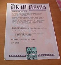 BRYAN ADAMS All I Want is You 1 page PRESS RELEASE and UK Tour dates