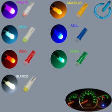 5x smd LED bulb Bombilla T5 5050 Dashboard, DC 12 V multicolor lampara luz lamp