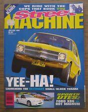 Street Machine Magazine July/August 1995 Ford XR6 vs HDT Magnum