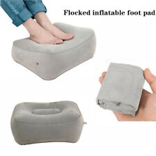 Portable Inflatable Foot Rest Pillow Cushion Air Travel Leg Footrest Relaxed Pad