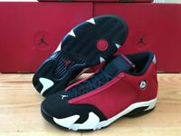PRE ORDER Air Jordan 14 TORO Black / Gym Red 487471-006 1-12c 1-7y 8- 13