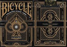 Gentleman Black Bicycle Playing Cards Poker Size Deck USPCC Limited Edition New
