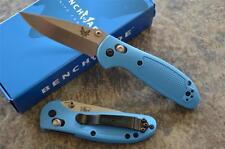 Benchmade 556-BLU Mini Griptilian Folding Axis Lock Knife w/ 154CM Blade