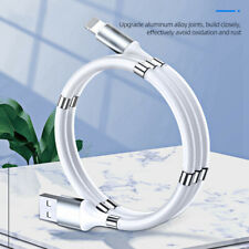 Magnetic Storage Lightning to USB Fast Charging Data Charger Cable Lead Wire