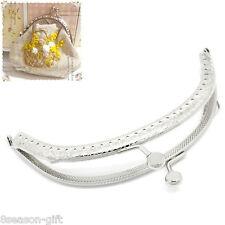 5 broches met/álicos para bolso Monedero de 8,5 cm GuoFa