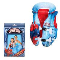 Giubbotto Salvagente Spiderman Gonfiabile Bambini Gilet Mare Piscina Estate 3181