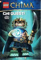 Lego Legends of Chima Book 3: Chi Quest by Yannick Grotholt 2014 HC Papercutz