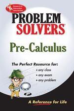 Pre-Calculus Problem Solver (REA) (Problem Solvers)