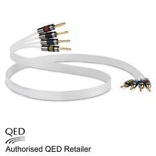 QED Argento Anniversario XT Bi-Wire Cavo 4+4 AIRLOC forte Spine montato 1 x 3 M