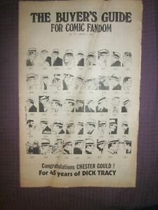 JAN 2 1976 #111 THE BUYER'S GUIDE FOR COMIC FANDOM-45 YEARS OF DICK TRACY