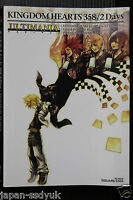 Kingdom Hearts 358/2 Days Ultimania Square enix book