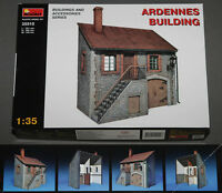 MINIART 1/35 ARDENNES BUILDING ~ plastic model kit building diorama