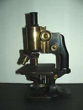 Vintage brass Spencer HIGH-QUALITY microscope No. 74703  great condition