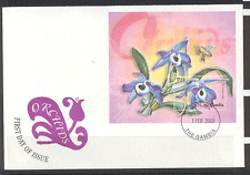 Gambia 2001 Orchids/Flowers/Nature m/s FDC (n10528)