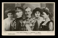 Royalty TRH Duke and Duchess of Connaught  & Family RP PPC