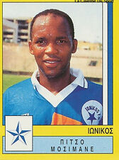 N°167 PITSO MOSIMANE SOUTH AFRICA IONIKOS.FC PANINI GREEK LEAGUE FOOT 95 STICKER