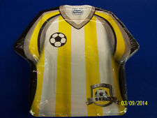 "Soccer Jersey Shirt Sports Banquet Birthday Party 9"" Shaped Paper Dinner Plates"