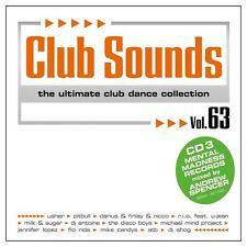 CLUB SOUNDS VOL. 63 * NEW & SEALED 3CD-SET * NEU *
