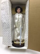 18� Jacqueline Kennedy Porcelain Doll By Danbury Mint In Box