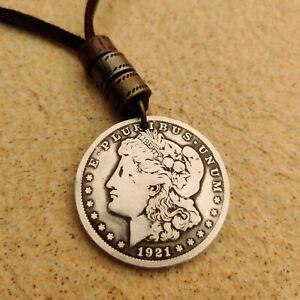 Genuine Morgan Silver Dollar Pendant