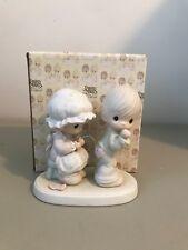 Precious Moment Figurine - 106844 - Sew In Love - Retired 1997