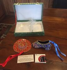 Oriental Treasures Dong A Suh Rare Red Hat And Blue Shoe