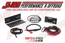 Switch Pros 8-Switch Panel Power System OFF ROAD 4X4 JEEP JK WRANGLER WHEELING
