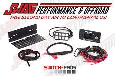 Switch Pros 8-Switch Panel Power System OFF ROAD 4X4 JEEP JK WRANGLER WHEELING