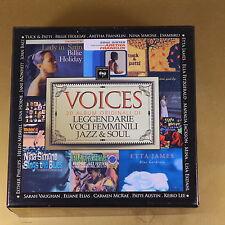 VOICES - LEGGENDARIE VOCI FEMMINILI JAZZ & SOUL - 20CD - OTTIMO CD [AN-141]