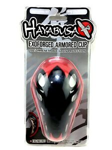 Hayabusa Exoforged Armored Cup Universal Fit 100% Impenetrable Groin Protection