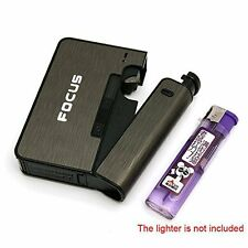 Styles FOCUS Automatic Loading Cigarette Case Dispenser with Lighter Space