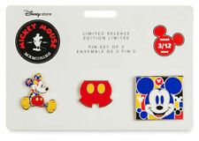 Disney Memories Mickey Mouse Pin Set - March Limited Edition