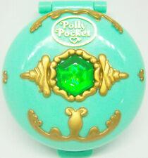 Vintage Polly Pocket jeweled forest set w doll Bluebird Toys