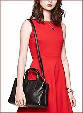 Kate Spade Cate Grey Street Black Purse Carry All Shopper Handbag Bag NWT $398