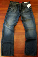 Guess Straight Leg Jeans Men's Size 40 X 30 Sexy Distressed Medium Wash - NEW