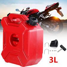3L Portable Jerrycan Gas Diesel Bucket ATV Motorcycle Tool Fuel Tank Universal