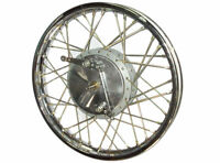 "ROYAL ENFIELD COMPLETE FRONT WHEEL RIM 19"" & 40 HOLES WITH DRUM PLATE"