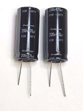 Capacitor Rubycon 470 470UF 470mfd 200V Electrolytic Capacitor 105c degree 2pc