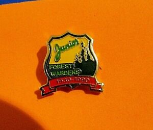Junior Forest Wardens 1930-1990 Pin
