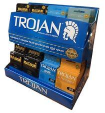 Trojan Condoms display 32 ct (32 packs of 3 condoms per pack)