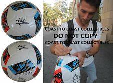 IGNACIO PIATTI,MONTREAL IMPACT,ARGENTINE,SIGNED,AUTOGRAPHED,SOCCER BALL,PROOF