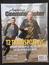 AMERICAN CINEMATOGRAPHER MAGAZINE T2 TRAINSPOTTING