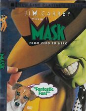 The Mask (DVD, 2005, Widescreen) Jim Carrey