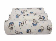 3 Stück Moltontücher 80x80 cm Moltontuch Baby Molton Tücher Baumwolle ★ 6890